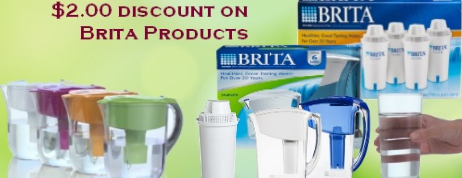 Brita Water Filter Pitcher Coupons