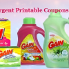 Gain laundry detergent printable coupons canada