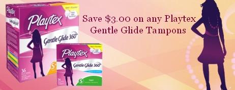 Playtex Gentle Glide Coupons
