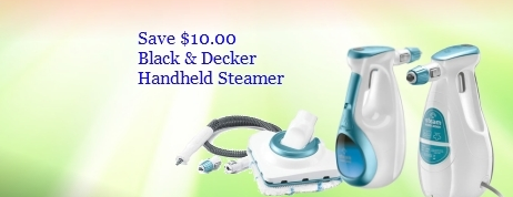 Black & Decker Handheld Steamer Coupons