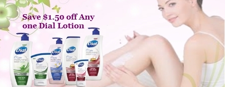 Dial Lotion Coupons
