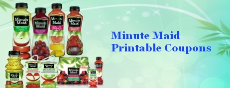 Minute Maid Printable Coupons