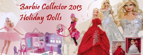 Barbie Collector 2013 Holiday Doll Coupons