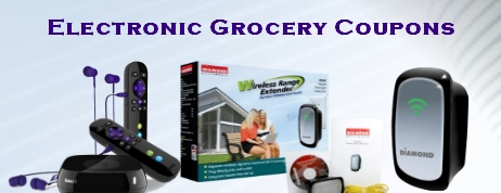 Electronic Grocery Coupons