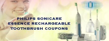 Philips Sonicare Essence Rechargeable Toothbrush Coupons