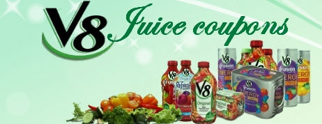 V8 Juice Coupons