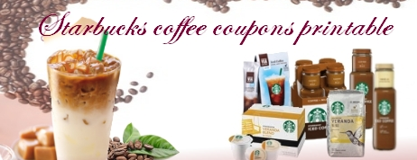 Starbucks coffee coupons
