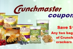 Crunchmaster Crackers Coupons