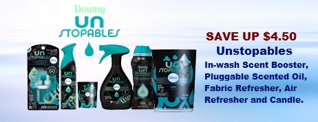 Downy Unstoppable Coupons