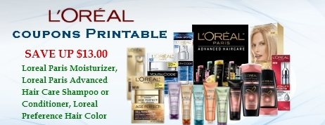 L'Oreal coupons printable