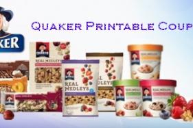 Quaker Printable Coupons