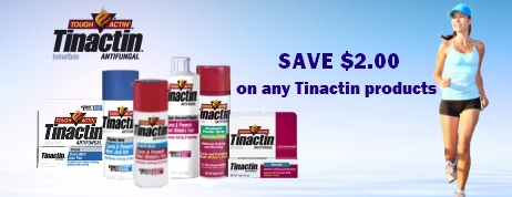 Tinactin Coupons
