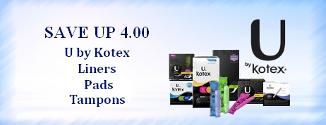 U by Kotex Coupons