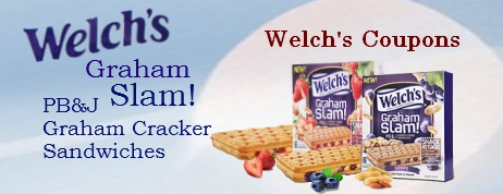 Welch's Graham Slam Cracker Sandwiches