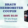 Braun thermometer coupon code
