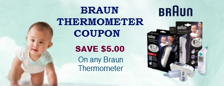 Braun Thermometer coupon
