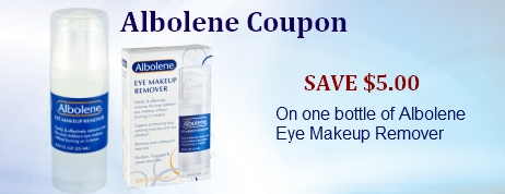 Albolene coupons