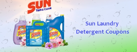 Sun laundry detergent coupons