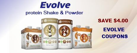 Evolve coupons