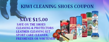 Kiwi Cleaning Shoes Coupon