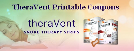 Theravent Printable coupons