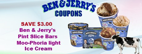 Ben & Jerry's coupons