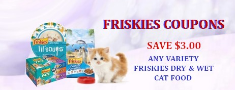 Friskies coupons
