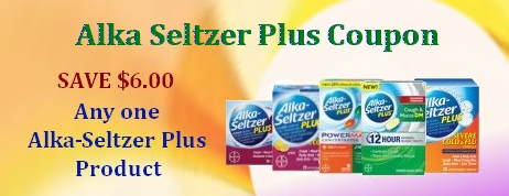 Alka seltzer plus coupon