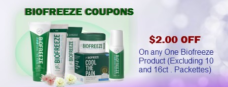 Biofreeze Coupons