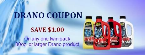 Drano coupon