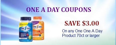 One A Day Coupon