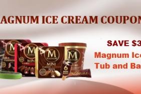 Free magnum ice cream promotion