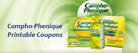 Campho-Phenique Printable Coupons