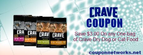 Crave Dog and Cat Food