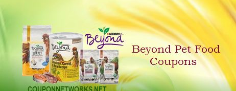 Beyond Pet Food Coupons