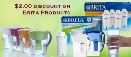 Brita Water Filter Pitcher Coupon