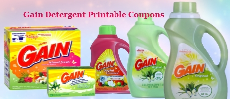 Gain Detergent Printable Coupons Coupon Network