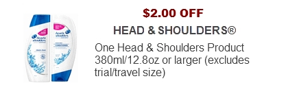 Head & Shoulders Coupon