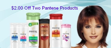 Pantene Hair Care Coupons