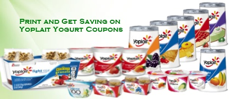 Yoplait Yogurt Discount Coupons