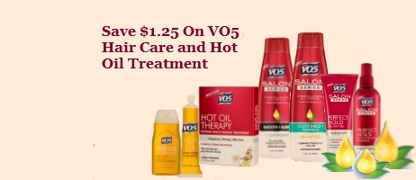 VO5 Printable Coupons