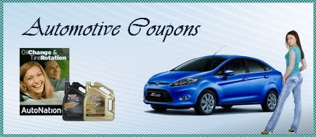 Automotive Coupons