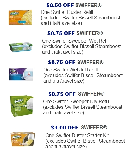 photo about Swiffer Coupons Printable named Swiffer wetjet discount coupons - Interesting h2o blue fragrance