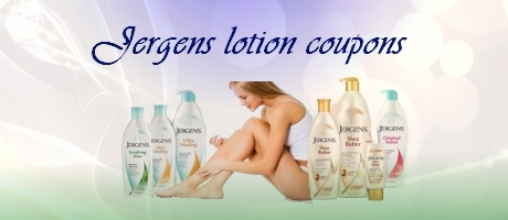Jergens lotion coupons