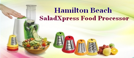 Hamilton Beach SaladXpress Food Processor