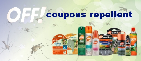 Off coupons repellent