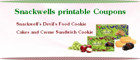 Snackwells Printable Coupons