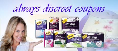 Always Discreet Coupon