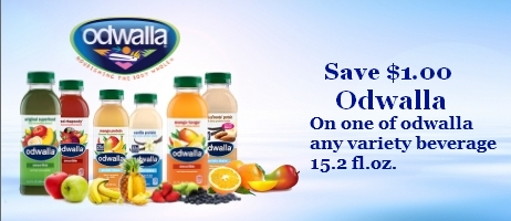 Odwalla Beverage Coupons