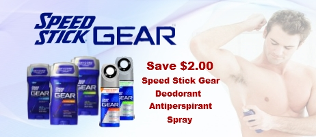 Speed Stick Gear coupon